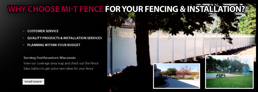 professional fencing installation,sales,service,vinyl fencing,wood fencing,backyard fencing,northeastern wisconsin fence contractors,sport court fencing
