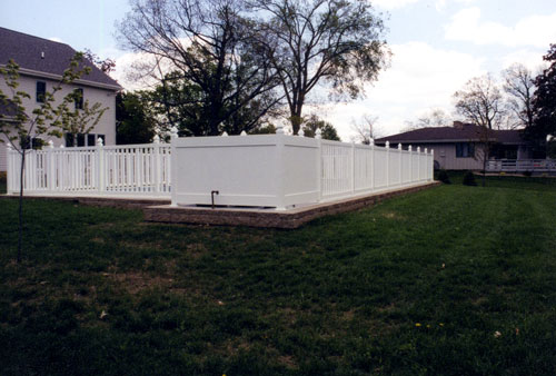 Vinyl Fence Gallery Mit Fence Backyard Fences Vinyl